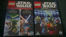 Lego star wars movie dvd bundle