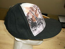 Collection 18 'London Paris New York' Trucker Cap Hat ONE SIZE Black Mix BNWT