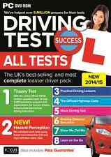Driving Test Success Hazard Perception Theory & Practical 2014 / 2015 PC DVD ROM