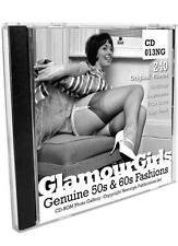 GLAMOUR GIRLS #13 Vintage Spick & Span Glamour Pictures - CD ROM