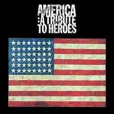 America: A Tribute to Heroes by Various Artists (CD, Dec-2001, 2 Discs,...
