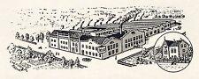 Schrauben Schroeder Neuenrade Reklame von 1925 Sauerland Fabrik