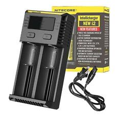 Nitecore i2 2016 Intellicharger Battery Charger for 18650, 14500, RCR123A & More