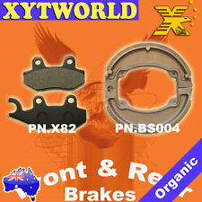 FRONT REAR Brake Pads Shoes for HONDA CB 300 R10 2010