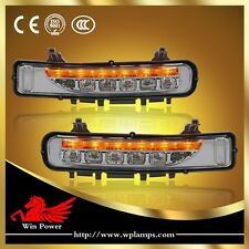 For 2011-2013 Ford Edge LED Daytime Running Light With Yellow Turn Light