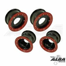 Banshee 350 Warrior  Front   Rear Wheels  Beadlock 10x5  9x8 Alba Racing  B/R 32