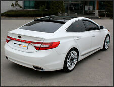 Painted Black Rear Roof Wing Spoiler For HYUNDAI Azera Grandeur HG 2012+