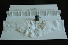Amera Z252  20 To 28mm Vacuformed Plastic Shell Damaged Trench Straight
