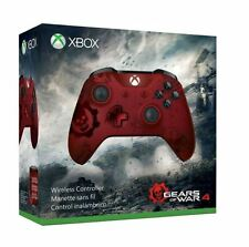 Xbox One / Xbox One S Wireless Controller - Gears of War 4 Crimson Omen Limited