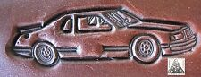 Stock Car Nascar Racing Embossing Plate Leather Stamp #3