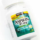 New Kirkland Low Dose Aspirin 81 mg Enteric Coated Pain Reliever 365 Tablets
