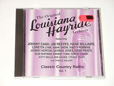 Louisiana Hayride - Classic Country Radio 1 - CD - Johnny Cash - Hank Williams