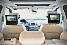 "ALL REGION FREE PHILIPS PD9012/37 9"" DUAL LCD MULTIZONE DVD PLAYER CAR TRAVEL!!!"
