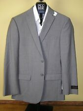 $650 New Jos A Bank JOSEPH taupe stripe pattern suit 40 R 34 W Slim fit