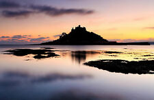 Framed Print - Impenetrable Fortress on a Tiny Ocean Island (Picture Poster Art)