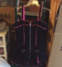 New Tripp Hot Topic Old school Dress Punk Rave Goth