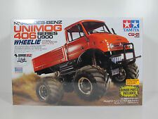 Tamiya CW-01 Mercedes-Benz Unimog 406 2WD ESC EP 1/10 Off Road RC Car #58557