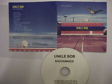 UNKLE BOB Shockwaves – 2010 UK CD PROMO – Indie Rock - RARE!