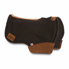 "NEW IMPACT GEL Brand barrel Saddle Pad 3/4"" thick, Black - in stock ships now"