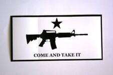 """4"""" x 7.5"""" Bumper Sticker Come and Take It Machine Gun"""