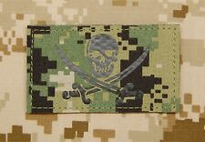 Calico Jack Infrared NWU Type III AOR2 Call Sign Patch IR Jolly Roger VELCRO®