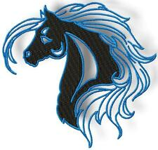 HORSES SILOUETTE10 MACHINE EMBROIDERY DESIGNS CD 2 SIZES