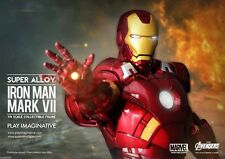 "Play Imaginative IRON MAN MARK VII SUPER ALLOY Diecast  1/6 12"" HALL OF ARMOR"