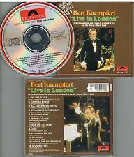 Bert Kaempfert ‎– Live In London CD