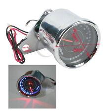 New Universal Motorcycle Tachometer Speedometer Tacho Gauge RPM LED Back Light