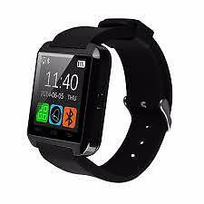 Bluetooth Touchscreen Smart Watch (Black)