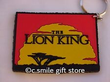 Disney *The Lion King Logo Vinyl Key Chain* from Applause Never Used MINT!