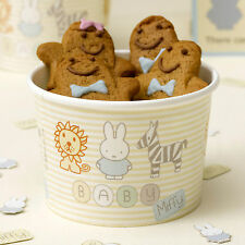 8 Baby Miffy Paper Icecream Tubs Shower Christening 1st First Birthday Party