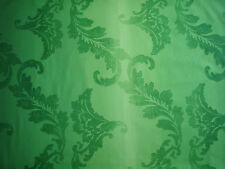 "DESIGNERS GUILD CURTAIN FABRIC ""Aksu"" 3.6 METRES 100% COTTON MALACHITE F2039/04"