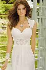 Destination Wedding Gown Camille La Vie 2014 Collection Sz 12