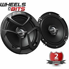 "JVC CS-J620 6.5"" 16cm 2 Way 600 Watts Pair Car Door Coaxial Speakers Inc Grilles"