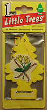 Little Trees Air Freshener Vanillaroma for Toyota Nissan Holden Ford BMW Jeep VW