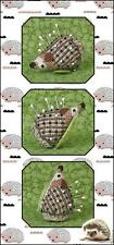 Just Nan Little Hedgie Cross Stitch Pattern and Embellishments Ltd Edition