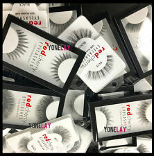 Pick Any Lot 100 Pairs GENUINE Red Cherry Human Hair Lashes False Eyelashes