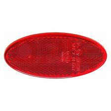 Auto-Adhesivo REFLECTOR TRASERO: Rojo Oval | Hella 8RA 343 160-002
