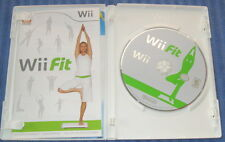 WII Fit Nintendo 65650A Video Game More Than 40 Activities In Box W/Booklet