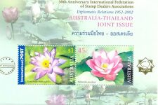 Australia - IFSDA OVERPRINT on Thailand min sheet-mnh(2215)