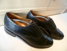 New & Lingwood cap toe oxford brogue UK 10 44 vtg full leather lace up