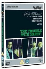 THE TROUBLE WITH HARRY ALFRED HITCHCOCK JOHN FORSYTHE SHIRLEY MacLAINE DVD L NEW