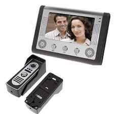 "7"" Video Door Phone Doorbell Door Bell Intercom Camera Monitor Night Vision US"