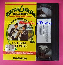 VHS film LA TORTA DI MORE Agatha Christie collection DEAGOSTINI (F88) no dvd