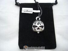 Harley Davidson Black Skull Flame Ride Bell Lucky bell bell Bell HRB039