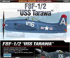 Academy 12313 Plastic Model Kit 1/48 F8F-1/2 USS Tarawa Military Cartograf NIB