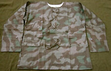 WWII GERMAN HEER ARMY SPLINTER A CAMO REVERSIBLE FIELD SMOCK-SIZE IV