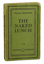 Naked Lunch ~ WILLIAM S BURROUGHS ~ First Edition 1st Issue Traveler's Companion