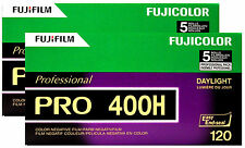 40 Rolls Fuji Pro 400H 120 Film Color Negative Daylight 400 FUJIFILM Exp:2018